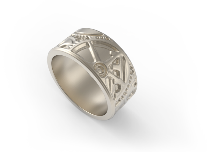 jweel embossed rings